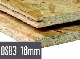 OSB 3-plaat dikte 18mm